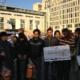 Mahnwache am Pariser Platz